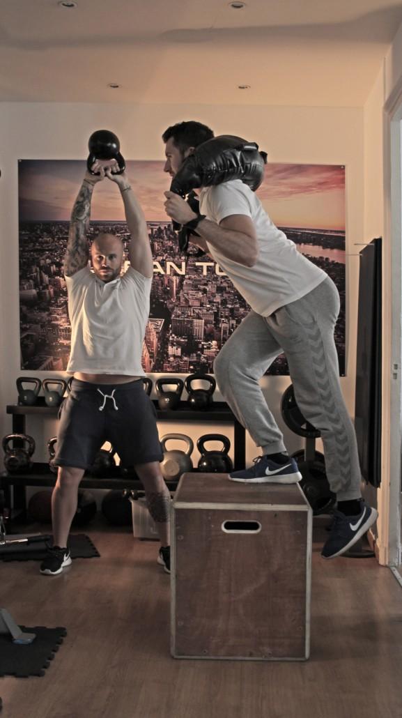 Urban Tonic coach sportif David et Selim